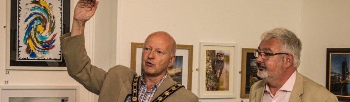 Test Valley Mayor Opens Bi-Annual Exhibition